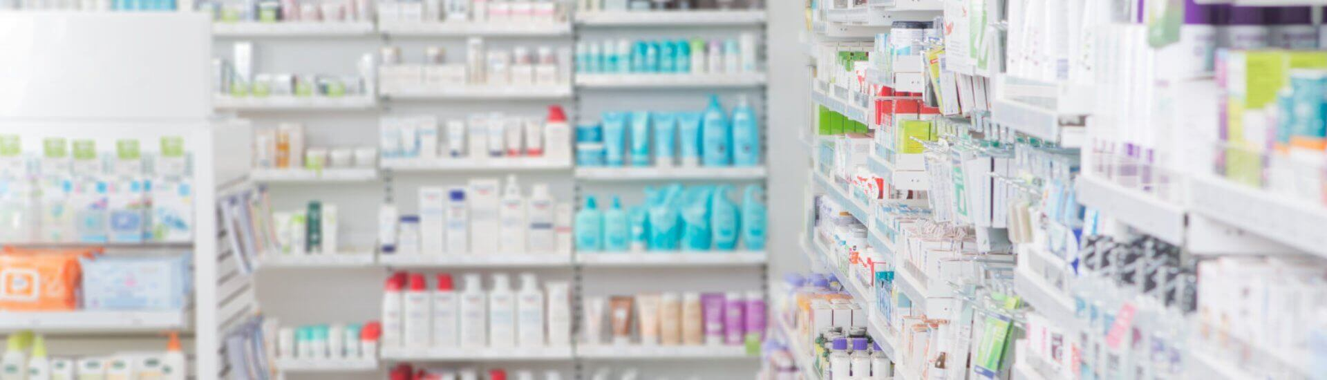 medicines in the pharmacy