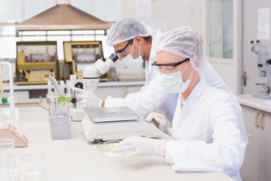 chemists inside laboratory